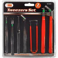 Wholesale 7pc TWEEZER SET