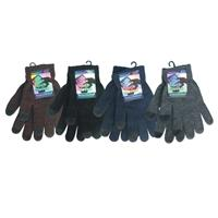 Wholesale TOUCH SCREEN GLOVES - ASSORTED COLORS