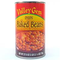 Wholesale Valley Gem Baked Beans with Onions Expires 6/12