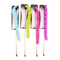 Wholesale FLUFFY CAT WAND TOY