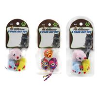 Wholesale 3pk ASSORTED CAT TOYS