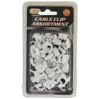 Wholesale 70PC Cable Clip Assortment
