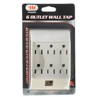 Wholesale 6 Outlet Wall Tap