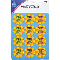 Wholesale 72CT VBS IS THE BEST STICKERS