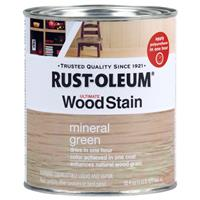 Wholesale 1QT WOOD STAIN MINERAL GREEN