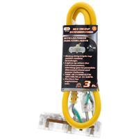 Wholesale 3' 12/3 TRI-TAP / LED ENDS