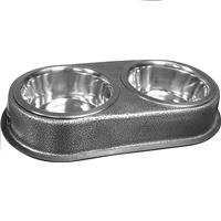 Wholesale ZJUMBO DOUBLE PET BOWL SET