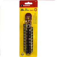 Wholesale Z20PC HEX BIT SET & HOLDER MET