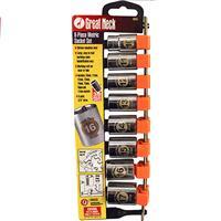 "Wholesale 8pc 3/8"" SHALLOW SOCKETS 10-17"