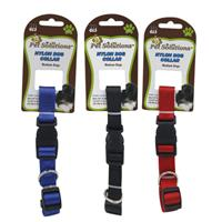 Wholesale NYLON DOG COLLAR - MEDIUM