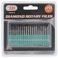 Wholesale 20PC DIAMOND ROTARY FILES