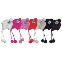 Wholesale Mohawk Helmet Hat with Fleece Lining Assorted