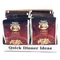 Wholesale Sauce Supreme Chili Seasoning Mix