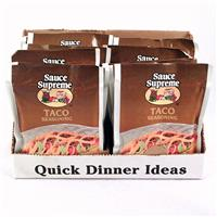 Wholesale Sauce Supreme Taco Seasoning Mix
