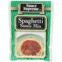 Wholesale Sauce Supreme Spaghetti Sauce Seasoning Mix