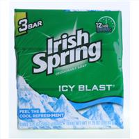 Wholesale Irish Spring Deodorant Soap Icy Blast 3.75 oz Bar