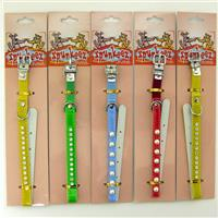 "Wholesale Spunkee Cat Collar with Jewels 10.5"" Assorted Colors"