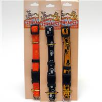 Wholesale Spunkeez Adjustable Collar Paw Print 5/8 x 11 x 17