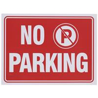 "Wholesale 9"" x 12"" NO PARKING SIGN"