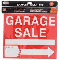 Wholesale 10pc GARAGE SALE SIGN KIT