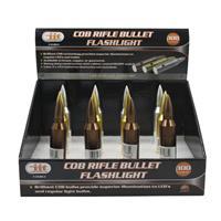 Wholesale 9 Led Rifle Bullet Flashlight