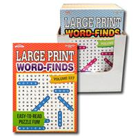Wholesale LARGE PRINT WORD FINDS 2 TITLE