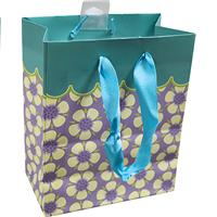 Wholesale Hallmark Gift Bag Mini Floral Small bag 5.5x6.5x3""