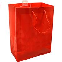 Wholesale GIFT BAG RED MEDIUM 7x4x9.5""
