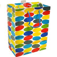 Wholesale Hallmark Gift Bag Dots Med.  7x9.5x4""