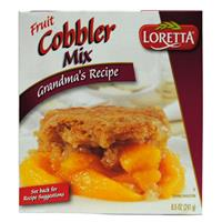 Wholesale Loretta Fruit Cobbler Mix Exp 1/13/2015