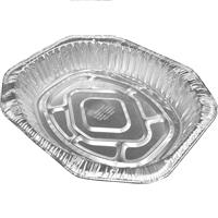 Wholesale Oval Roaster Pan - Large - Foil - No label 17.3x12