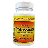 Wholesale Nature's Benefits Potassium 99 MG