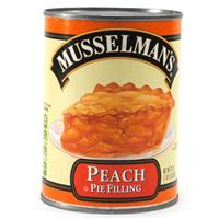 Wholesale BEST BY 8/20/18 -Musselman's Peach Pie Filling