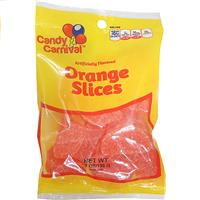 Wholesale Carnival Candy Orange Slices- Peggable