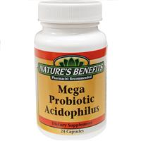 Wholesale Nature's Benefit Mega Probiotic Acidophilus Caps