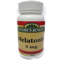 Wholesale Nature's Benefits Melatonin 5mg (Exp 9/20)