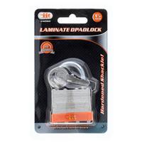 "Wholesale 1-1/2"" Laminated Steel Padlock"