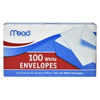 Wholesale Mead #6 3/4 White Envelopes