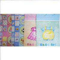 Wholesale Jumbo Matte Finish Baby Gift Bag Assorted