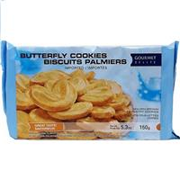 Wholesale Gourmet Delight Butterfly Pastry Cookies
