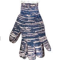 Wholesale 1 Dozen Multi-Colored String Knit Gloves - Large
