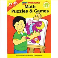 Wholesale MATH PUZZLES & GAMES: 3