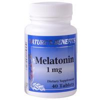 Wholesale Nature's Benefits Melatonin 1mg Tablets w/B6