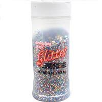 Wholesale Multi-Color Glitter Shaker Bottle 4 oz