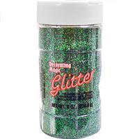 Wholesale Green Glitter Shaker Bottle 8 oz