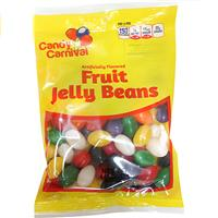 Wholesale Candy Carnival Fruit Jelly Beans - peggable bags