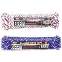 """Wholesale 100' X 1/4"""""""" Diamond Braid Rope"""