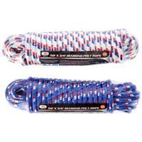 """Wholesale 3/8"""" X 50' Diamond Braided Rope"""