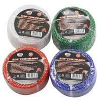 "Wholesale 5/32"" x 50' TWISTED POLY ROPE"