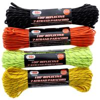 Wholesale 100' REFLECTIVE 550 LBS PARACORD